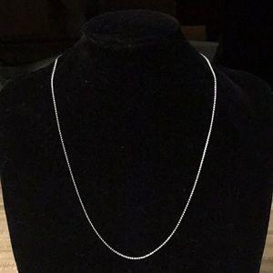 Jewelry - 14k White Gold Wheat Chain